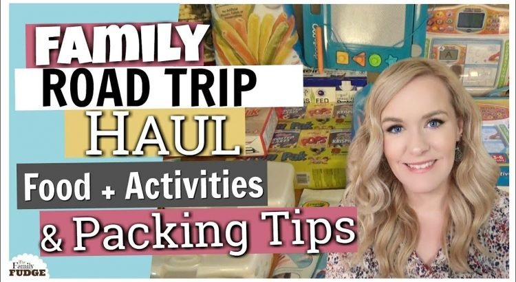 FAMILY ROAD TRIP HAUL || Food and Activities & Packing Tips